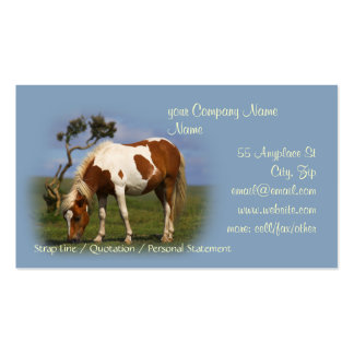 Pony And Lone Gorse business cards
