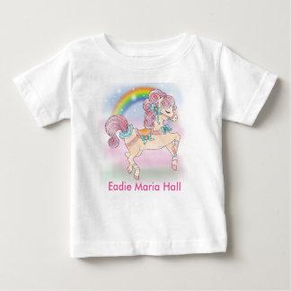 Pony And Rainbow Baby Fine Jersey T-Shirt