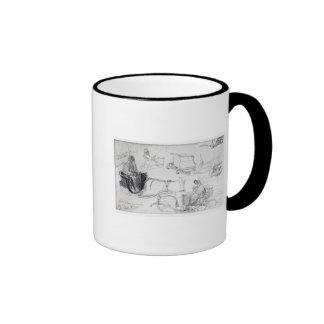 Pony and Traps on Francis Street, London, 1835 Mug
