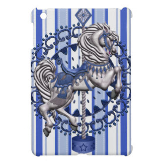 Pony Blue iPad Mini Cover