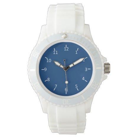 Pony Blue White Wrist Watch
