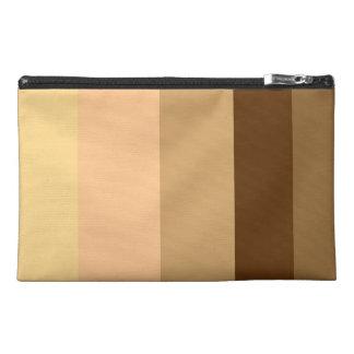 Pony-brown stripes accessory bag