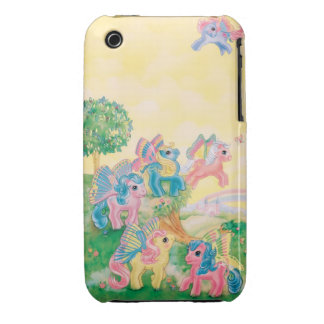 Pony Butterfly Wings Case-Mate iPhone 3 Case