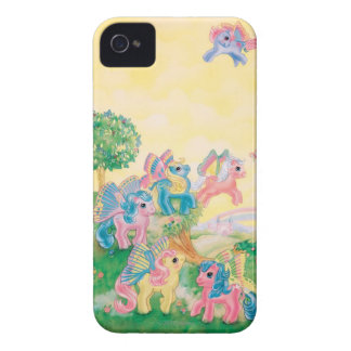 Pony Butterfly Wings iPhone 4 Covers