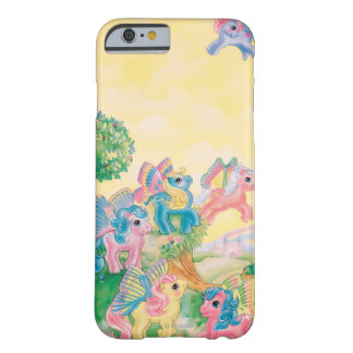 Pony Butterfly Wings iPhone 6 Case
