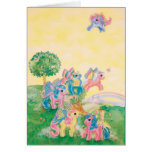 Pony Butterfly Wings Greeting Card