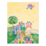 Pony Butterfly Wings Postcard