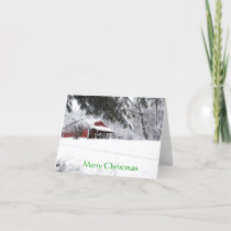 Pony Christmas Holiday Card