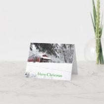Pony Christmas Holiday Card