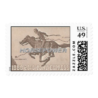 Pony Express 150th Anniversay Collection Stamp