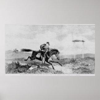 Pony Express americano Póster
