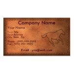 Pony Express Business Card