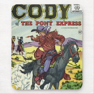 Pony Express Cody Mouse Pad