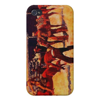 Pony Express iPhone 4 Protectores
