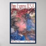 PONY EXPRESS LOS E.E.U.U. IMPRESIONES