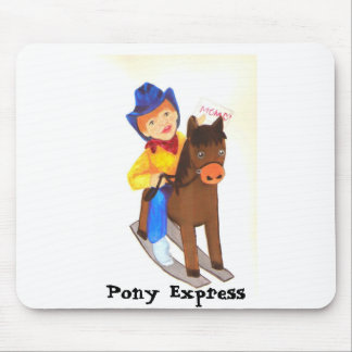 Pony Express Mouse Pad