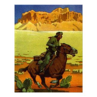 Pony Express Postal Service Retirement Invitation