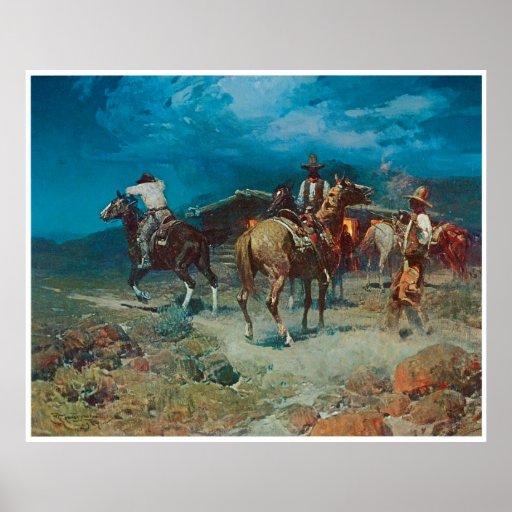 Pony Express Póster