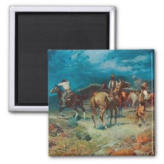 Pony Express Rest Stop Fine Art Magnet