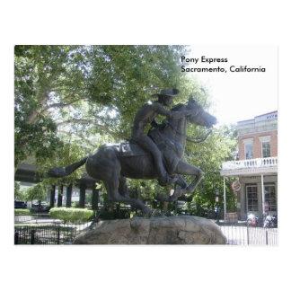 Pony Express Postales