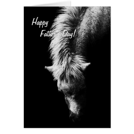 Pony - Father's Day fine art - Pool Card