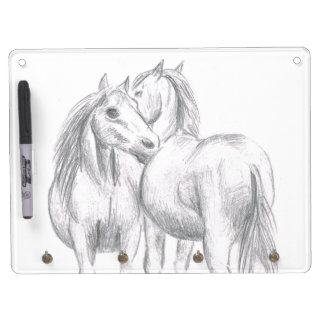 pony friends dry erase board