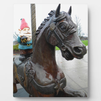 Pony Gnome Plaque