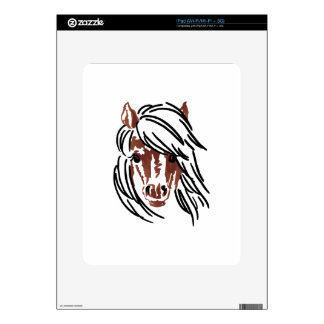 Pony Head Larger Decal For The iPad