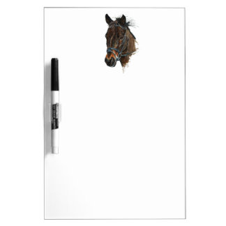 pony head study art dry erase board
