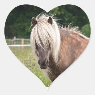 pony heart sticker