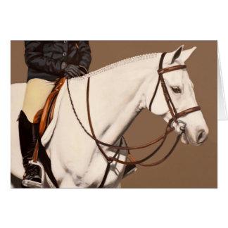 Pony Hunter Greeting Card