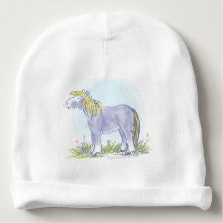 Pony in Iris Blue Baby Beanie