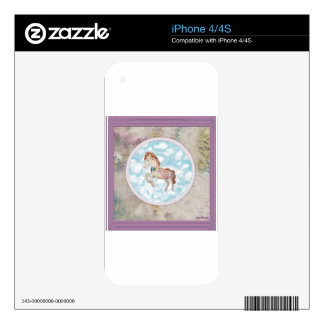 Pony In The Sky Skins For iPhone 4S