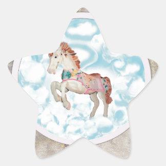 Pony In The Sky Star Sticker