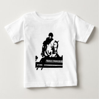 Pony Jumping bw Baby T-Shirt