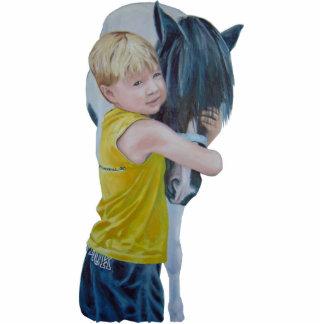 Pony Love Magnet Sculpture