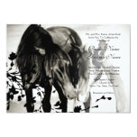 Pony Love Wedding Invitation