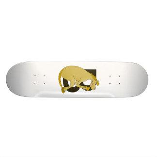 Pony Monogram Letter B Skateboard Deck