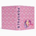Pony Pals 3 Ring Binder