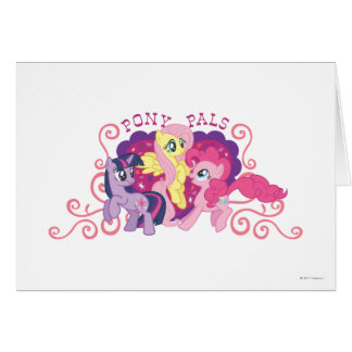 Pony Pals Greeting Card