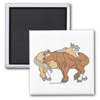 Pony Pals Magnet - White