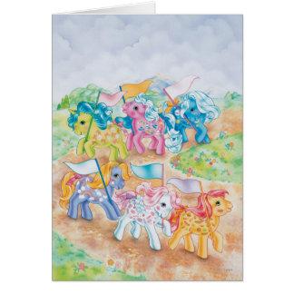 Pony Parade Card