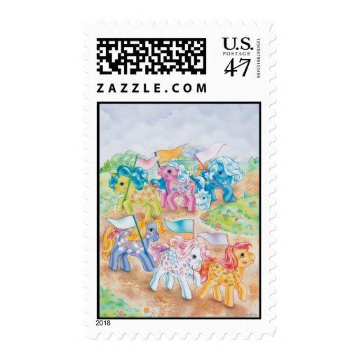 Pony Parade Postage Stamp