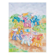 Pony Parade Postcard