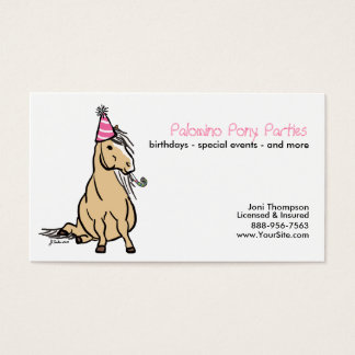 Pony Parties Business Card
