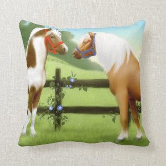 Pony Pasture Friends Pillow