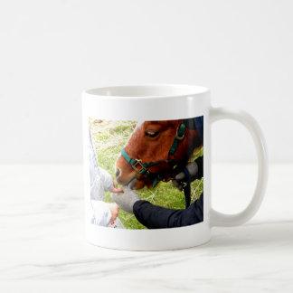 Pony Pet Classic White Coffee Mug