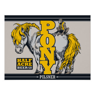 Pony Pilsner Poster