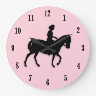Pony Pink Clock