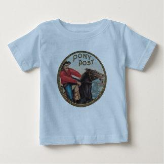 Pony Post infant T blue Baby T-Shirt